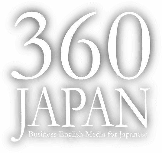 360JAPAN Business Engish Media for Japanese
